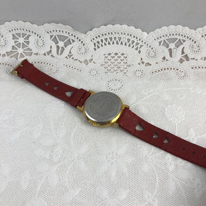 Bright Ideas Accessories - Vintage Betty Boop Watch Red Band Gold & Red Heart